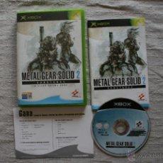 Videojuegos y Consolas: METAL GEAR SOLID 2 SUBSTANCE XBOX COMPLETO. Lote 45160433