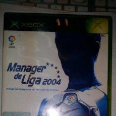 Videojuegos y Consolas: JUEGO DE XBOX MANAGER DE LIGA 2004. Lote 45930818