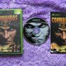 Videojuegos y Consolas: COMMANDOS 2: MEN OF COURAGE XBOX XBOX PAL ESP COMPLETO. Lote 48596937