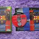 Videojuegos y Consolas: MICROSOFT XBOX CLUB FOOTBALL BARCELONA 2005 COMPLETO. Lote 48597538