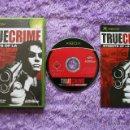 Videojuegos y Consolas: TRUE CRIME XBOX STREETS OF LA XBOX PAL ESP COMPLETO. Lote 48597622