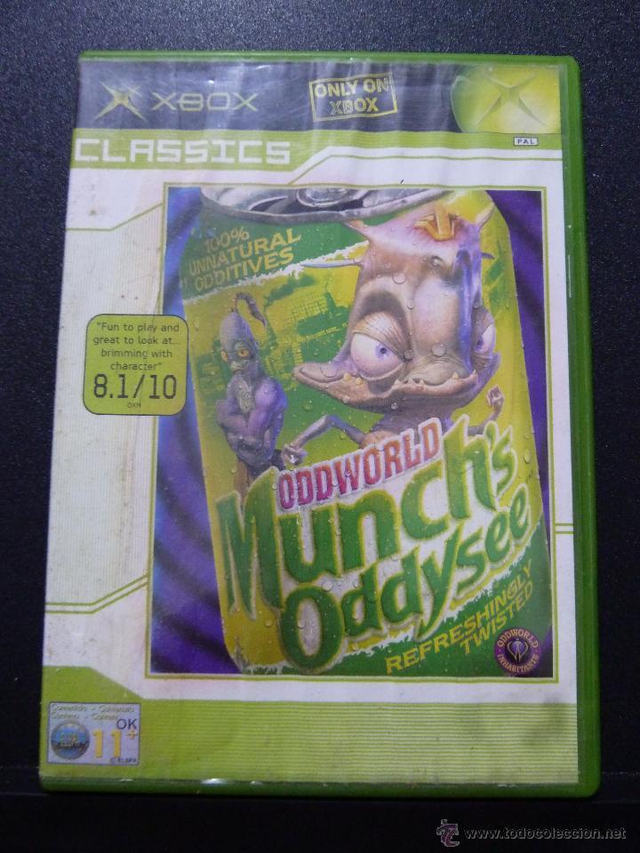 JUEGO PARA XBOX ODDWORLD MUNCH'S ODDYSEE (Spielzeug - Videospiele und Konsolen - Microsoft - Xbox)