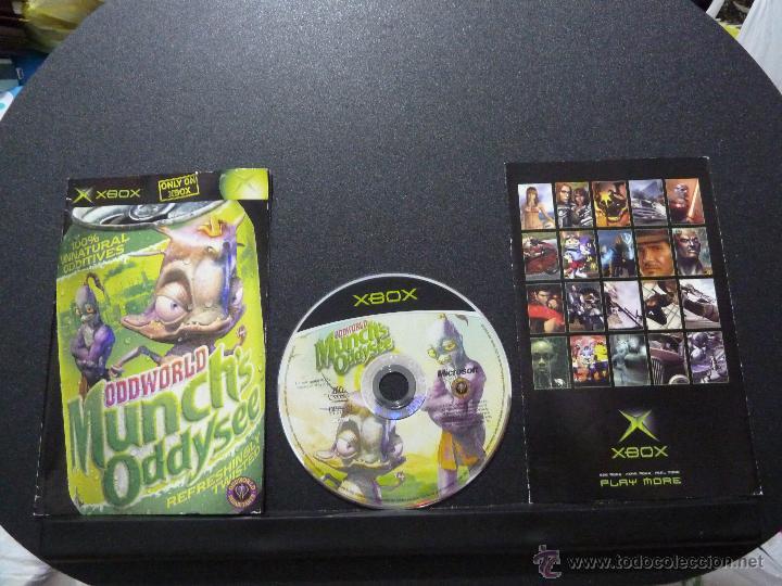 Videospiele und Konsolen: JUEGO PARA XBOX ODDWORLD MUNCH'S ODDYSEE - Foto 3 - 50320296