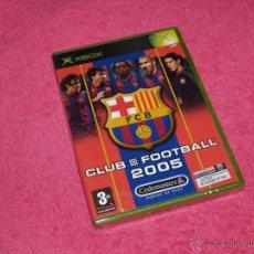 Videojuegos y Consolas: XBOX CLASICA BARCELONA CLUB FOOTBALL 2005 NUEVO PRECINTADO PAL ESPAÑA NEW. Lote 278848943