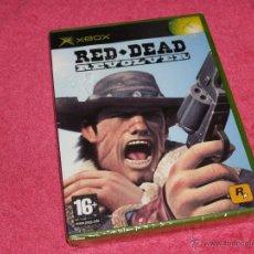 Videojogos e Consolas: XBOX CLASICA RED DEAD REVOLVER NUEVO PRECINTADO PAL ESPAÑA NEW. Lote 209326093