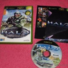 Videojuegos y Consolas: XBOX CLASICA HALO COMPLETO PAL ESPAÑA. Lote 51964243
