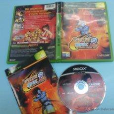 Videojuegos y Consolas: CAPCOM VS. SNK EO 2 JUEGO XBOX - COMPLETO - PAL ESPAÑA. Lote 52777879