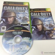 Videojuegos y Consolas: CALL OF DUTY FINEST HOUR. Lote 52879017