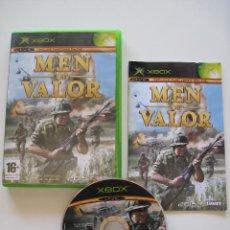 Videojuegos y Consolas: MEN OF VALOR • X-BOX (PAL) • CON INSTRUCCIONES. Lote 60122875