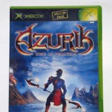 Videojuegos y Consolas: VIDEOJUEGO MICROSOFT XBOX - AZURIK RISE OF PERATHIA - PAL - ESPAÑA. Lote 73629959