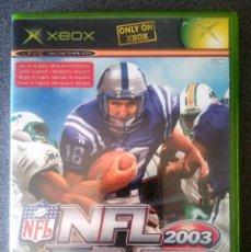 Videojuegos y Consolas: NFL FEVER 2003 XBOX. Lote 77198321