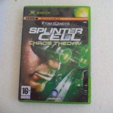 Jeux Vidéo et Consoles: SPLINTER CELL CHAOS THEORY. TOM CLANCY'S. JUEGO PARA LA CONSOLA XBOX. PAL. X BOX. VIDEOJUEGO. Lote 79627781