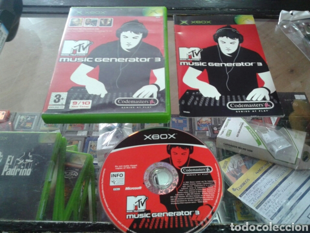 MUSIC GENERATOR 3,XBOX,PAL ESPAÑA (Juguetes - Videojuegos y Consolas - Microsoft - Xbox)