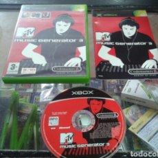 Videojuegos y Consolas: MUSIC GENERATOR 3,XBOX,PAL ESPAÑA. Lote 80473089