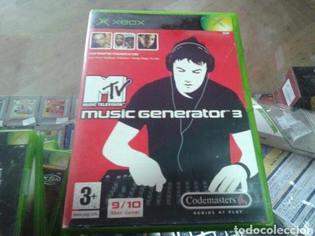 Videojuegos y Consolas: Music generator 3,xbox,pal España - Foto 2 - 80473089