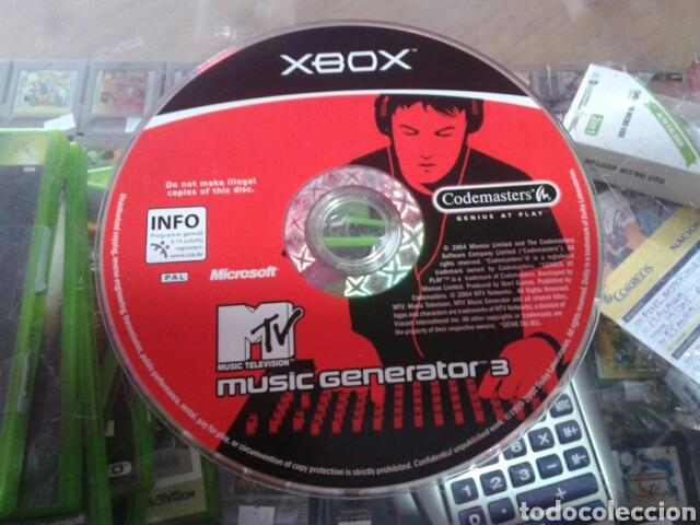 Videojuegos y Consolas: Music generator 3,xbox,pal España - Foto 5 - 80473089
