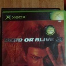 Videojuegos y Consolas: DEAD OR ALIVE 3 XBOX. Lote 82785271