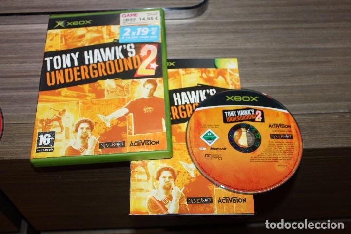 TONY HAWK'S UNDERGROUND 2 PARA XBOX CON CAJA (Juguetes - Videojuegos y Consolas - Microsoft - Xbox)