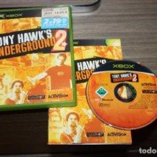 Videojuegos y Consolas: TONY HAWK'S UNDERGROUND 2 PARA XBOX CON CAJA. Lote 83982964