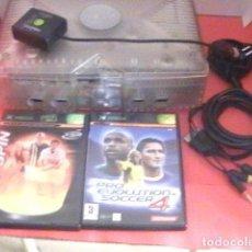 Videojuegos y Consolas: MICROSOFT XBOX .COMO NUEVA 3 JUEGOS Y ACCESORIOS. Lote 90097900