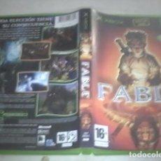 Videojuegos y Consolas: FABLE XBOX COMPLETO PAL ESPAÑOL. Lote 91258240