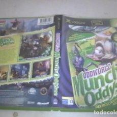 Videospiele und Konsolen - ODDWORLD MUNCHS ODDYSEE XBOX COMPLETO - 91306525