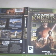 Videojuegos y Consolas: STAR WARS KNIGHTS OLD REPUBLIC XBOX. Lote 91313220