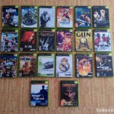 Videojuegos y Consolas: GRAN LOTE DE 20 JUEGOS COMPLETOS DE LA XBOX ORIGINAL. Lote 93595075