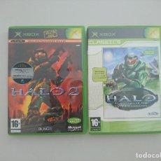 Videojuegos y Consolas: JUEGOS HALO Y HALO 2 EN PERFECTO ESTADO. Lote 96143919