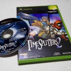 Videojuegos y Consolas: TIMESPLITTERS 2 ( XBOX -PAL - ESPAÑA). Lote 97237963