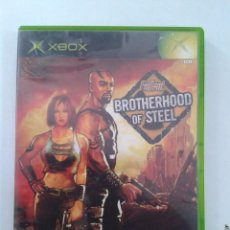 Videojuegos y Consolas: FALLOUT. BROTHERHOOD OF STEEL. X-BOX. Lote 100335887