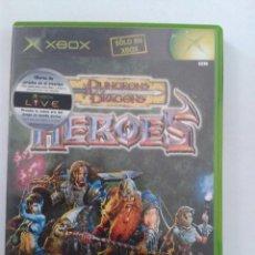 Videojuegos y Consolas: DUNGEONS & DRAGONS: HEROES. X-BOX. Lote 100336259