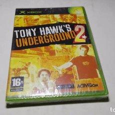 Videojuegos y Consolas: TONY HAWKS UNDERGROUND 2 ( XBOX -PAL - ESPAÑA) PRECINTADO!!. Lote 100528755