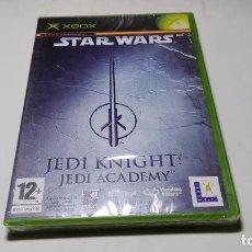 Videojuegos y Consolas: STAR WARS JEDI KNIGHT: JEDI ACADEMY ( XBOX -PAL - ESPAÑA) PRECINTADO!!. Lote 100528787