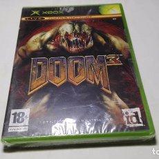 Videojuegos y Consolas: DOOM 3 ( XBOX -PAL - ESPAÑA) PRECINTADO!!. Lote 100528839