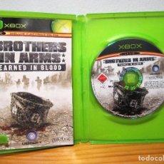 Videojuegos y Consolas: JUEGO CD BROTHERS IN ARMS EARNED IN BLOOD. JUEGO PARA XBOX . Lote 105704043