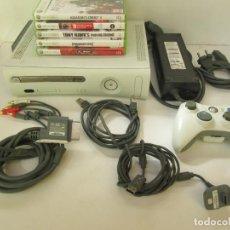 Videojuegos y Consolas: XBOX 360 MICROSOFT MUY COMPLETA Y 5 JUEGOS. Lote 107136707