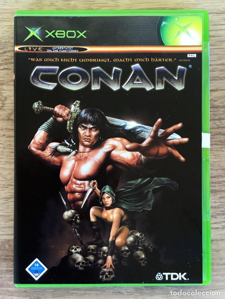 Conan Xbox Clasica Pal Juego Xbox Completo Ra Buy Video Games