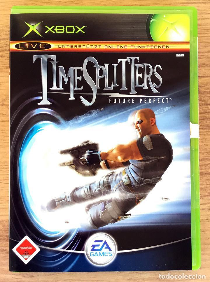 TIME SPLITTERS ( FUTURE PERFECT ) XBOX CLASICA (PAL) JUEGO XBOX COMPLETO RARE¡ (Juguetes - Videojuegos y Consolas - Microsoft - Xbox)