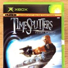 Videojuegos y Consolas: TIME SPLITTERS ( FUTURE PERFECT ) XBOX CLASICA (PAL) JUEGO XBOX COMPLETO RARE¡. Lote 107638987