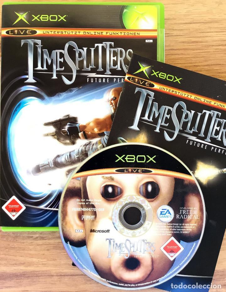 Videojuegos y Consolas: TIME SPLITTERS ( Future Perfect ) XBOX CLASICA (PAL) Juego XBOX Completo RARE¡ - Foto 3 - 107638987