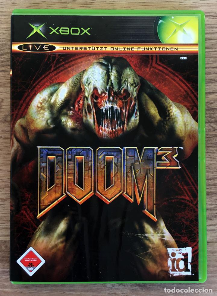 Doom 3 Xbox Clasica Pal Juego Xbox Completo Comprar Videojuegos