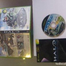 Videojuegos y Consolas: X-BOX XBOX HALO COMPLETO PAL-ESPAÑA. Lote 107721091
