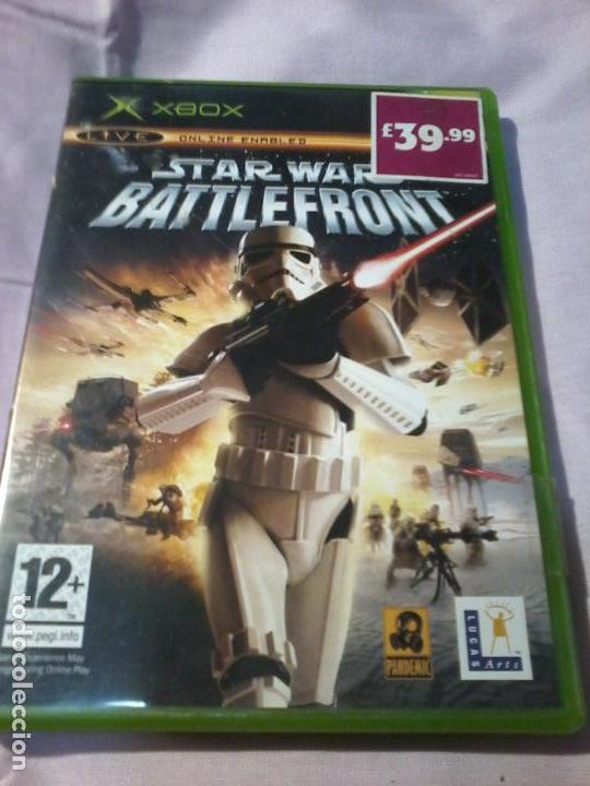 TAR WARS BATTLEFRONT XBOX COMPLETO PAL (Juguetes - Videojuegos y Consolas - Microsoft - Xbox)