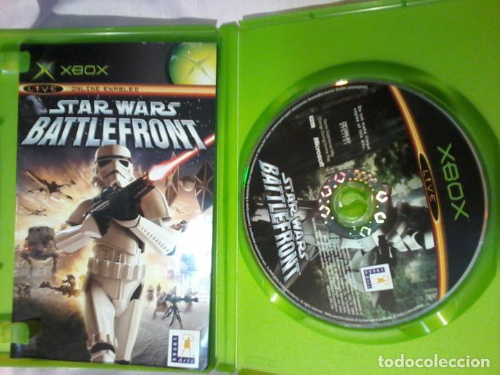 Videojuegos y Consolas: TAR WARS BATTLEFRONT XBOX COMPLETO PAL - Foto 2 - 110069375