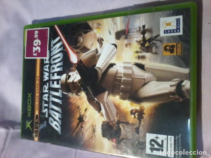 Videojuegos y Consolas: TAR WARS BATTLEFRONT XBOX COMPLETO PAL - Foto 3 - 110069375