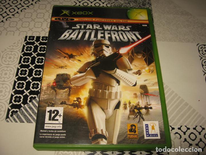 STAR WARS BATTLEFRONT XBOX PAL ESPAÑA COMPLETO - PANDEMIC LUCAS ARTS (Juguetes - Videojuegos y Consolas - Microsoft - Xbox)