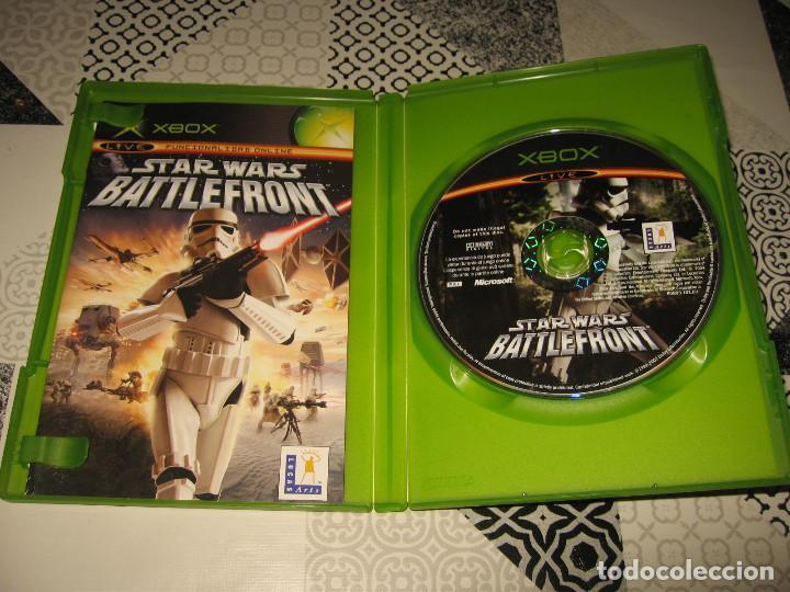 Videojuegos y Consolas: STAR WARS BATTLEFRONT XBOX PAL ESPAÑA COMPLETO - PANDEMIC LUCAS ARTS - Foto 3 - 110482939