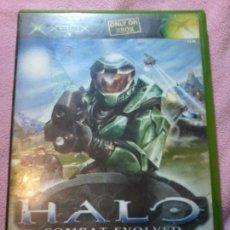Videojuegos y Consolas: HALO XBOX COMPLETO PAL-ESPAÑA. Lote 111303243