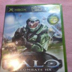 Videojuegos y Consolas: HALO XBOX COMPLETO PAL-ESPAÑA. Lote 111303247